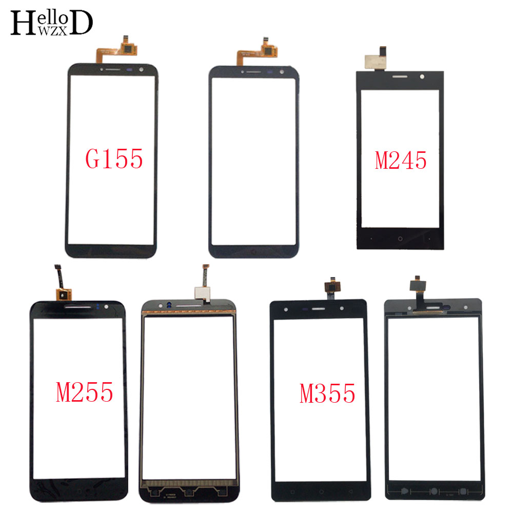 Mobile Touch Screen Panel For DEXP Ixion G155 M245 M255 M355 TouchScreen Digitizer Panel Lens Sensor Front Glass 3M Glue Wipes