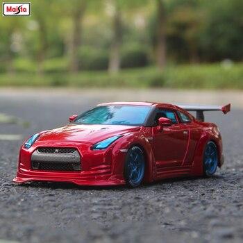 Maisto 1:24 Nissan GTR Alloy car model die-casting model car simulation car decoration collection gift toy autoart 1 18 nissan alto skyline nismo s1 alloy model car page 5