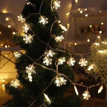 Snowflake LED Light choinka ozdoba do domu 2020 ozdoba świąteczna Navidad świąteczny prezent szczęśliwego nowego roku 2021 Natal tanie tanio CN (pochodzenie) DD24 Bez pudełka christmas christmas decorations for home new Year decoration navidad 2020 christmas tree decorations