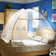 Folding Mosquito Net Tent Canopy Curtains for Beds Home Bedroom Decor