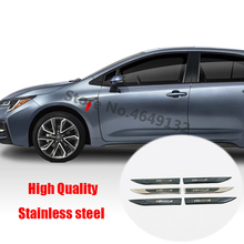 Cover Toyota Corolla Sticker Exterior-Accessories for Fender-Emblem Badge ABS Car-Side
