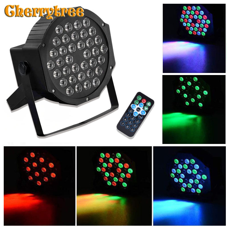 DMX Disco Lamp Party Lights Led Par Laser Lighting Effect Disco Led Stage Lights Dmx Controller Christmas Decorations 7 Channel