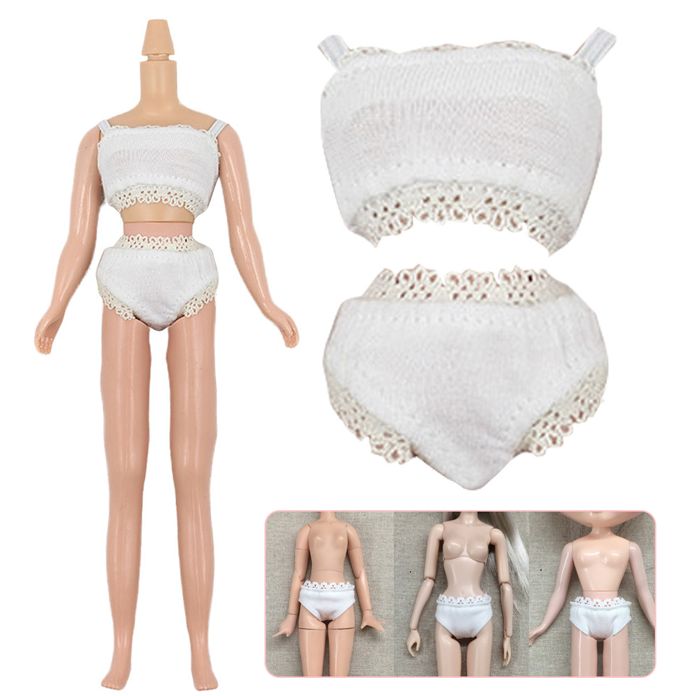 Fashion White Lace Trim Underwear Briefs For 1//6 BJD SD Dollife LUTS Clothes