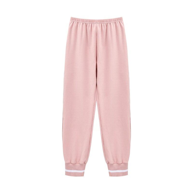 Pijamas Women Cotton 2020 Fashion Style Woman Home Clothes Plus Size Home Clothing Girl Homesuit Pajama Pants Lounge Pants Girl
