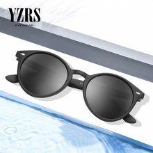 YZRS Brand Round Sunglasses Men Polarized Driver Sun Glasses Retro Summer Women Shades Fishing Male Eyewear