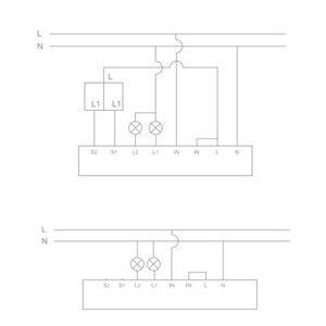 Image 5 - Aqara Módulo de Control de vía dual, controlador de Relé inalámbrico, temporizador inteligente, 2 canales, funciona con la aplicación Mijia y Homekit