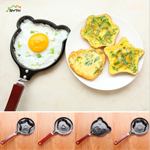 Mini love omelette pot non-stick pan small frying pan omelette pan mold creative breakfast pot стоимость