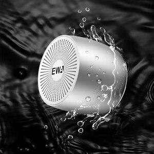 Image 4 - Mini altoparlanti Bluetooth EWA A103 altoparlante per basso tedesco per campo esterno/interno/bicicletta/ravel scatola di metallo suono forte