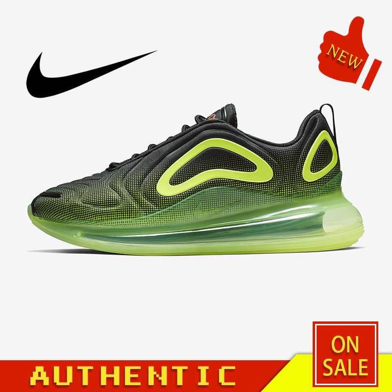 Original Authentic Nike Air Max 720 Men's Running Shoes Comfortable Breathable Sports Shoes 2019 Spring New Arrival AO2924-002