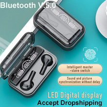 TWS New Wireless Headphones Bluetooth 5.0 Earphone TWS Mini In ear Sports Running Headset Support iOS/Android Phones HD Call