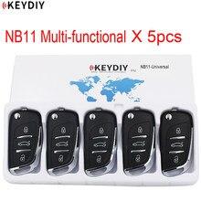 5 pçs x multi-funcional chave remota universal para kd900 + urg200 KD-X2 nb-series keydiy nb11 nb08 nb10 nb18 nb25 nb26 nb28 nb29 kd