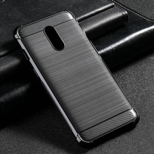 Black Silicone Case For OnePlus 7
