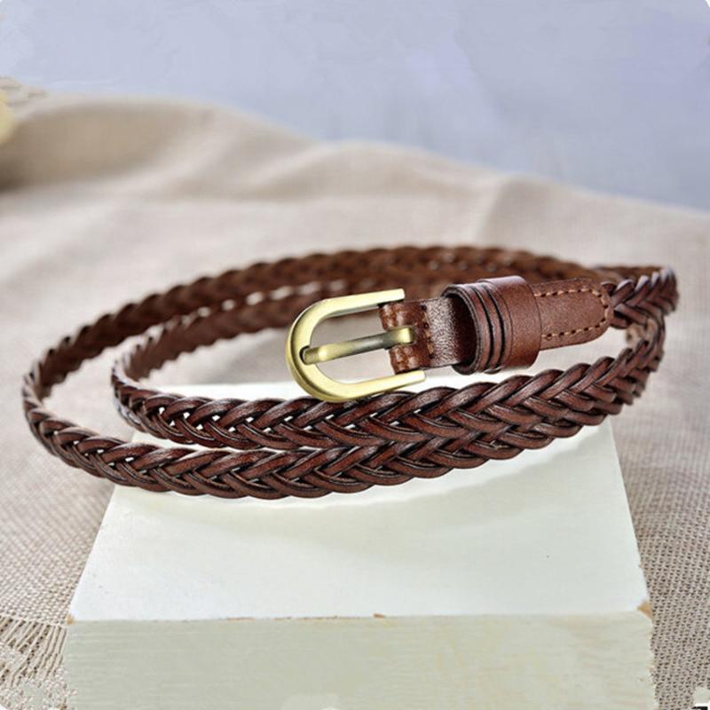 2020 Trendy Braided Belt Tide Corset Belt Stylish Waistband Solid New Design Belts For Women PU Wide Belt Fashion Female ZK708