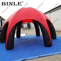 Легкая оксфордская надувная палатка-паук, 6 ножек, надувной шатер, станция для детских мероприятий на день рождения
