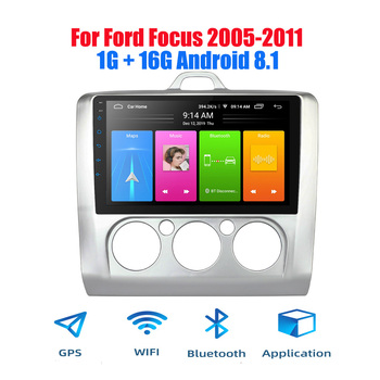 2din Android 8.1 Car Radio for 2005-2011 Ford Focus Autoradio GPS Navigation Bluetooth Stereo Multimedia player image