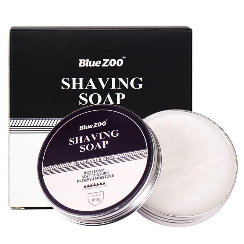 100g Professional Shaving Cream Shaving Soap Foaming Moisturizing Razor Deep Cleansing Barbering for Men Barber Care beauty
