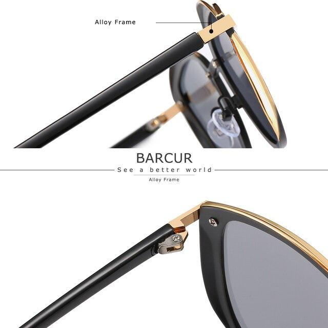 Luxury Polarized Sunglasses Women Round Sun Glassess Ladies Lunette De Soleil Femme 5