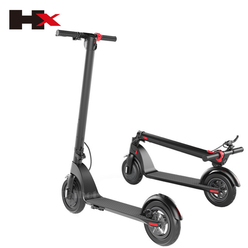 HX X7 Electric Scooter 36V 2 Wheel Electric Scooters With Removable Battery 8.5 Inch 250W Portable Folding Electric Kick Scooter (32)