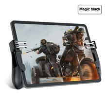 Controle de jogos para ipad e iphone, 2 peças, h11, pubg, tablet, iphone, gatilho, botão de atirar, mira, chave de jogo móvel joystick