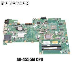 NOKOTION 709176-501 709176-001 płyta główna dla HP Pavilion Sleekbook 15 Laptop płyta główna DA0U56MB6E0 A8-4555M CPU A70M MARS 1G