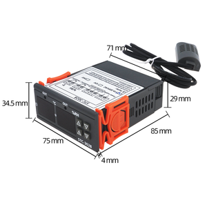 Image 3 - STC 3028 regulator temperatury termostat kontrola wilgotności termometr regulator higrometr termoregulator 12V/24V/220V 40%