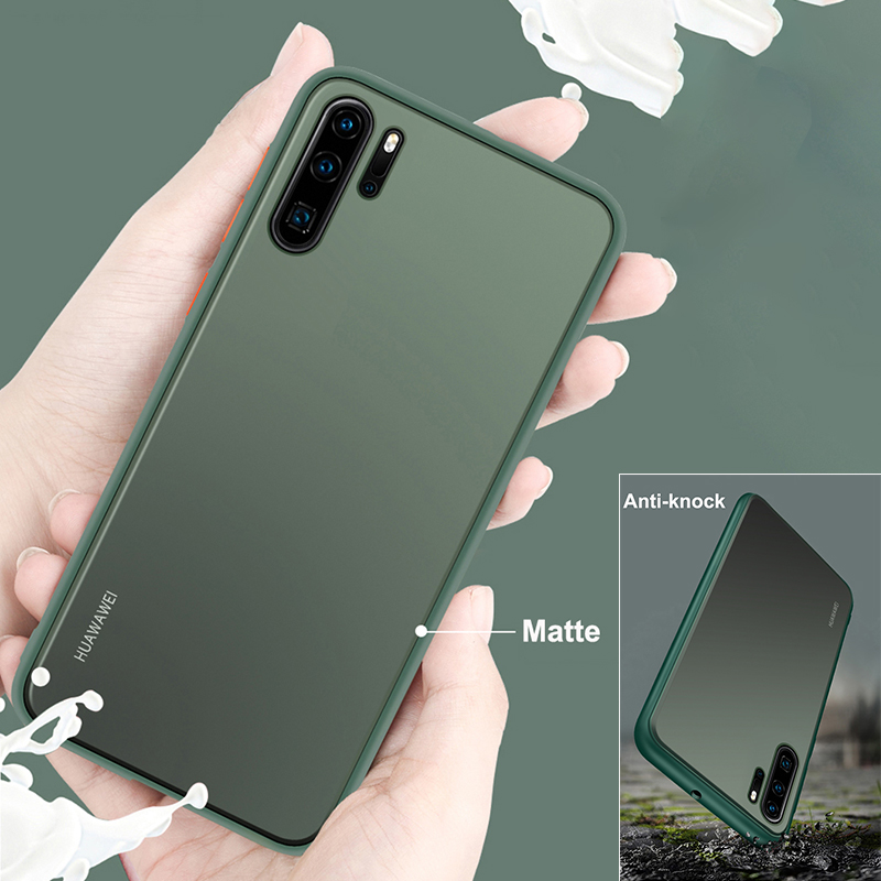 Luxury Matte Phone <font><b>Case</b></font> For Huawei Y9S Y6S Y9 Y7 Y6 Y5 Prime 2019 <font><b>Honor</b></font> 7A 8S <font><b>7S</b></font> Play3 Mate 20 Pro View 30 Pro Cover <font><b>Case</b></font> Coque image