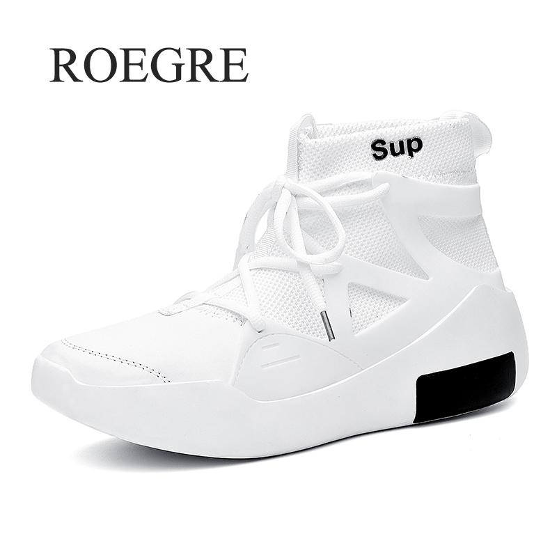 2019 New Men Fashion Casual Shoes Sneakers Spring High Top Trend Man Shoes Brand Comfortable Breathable Waterproof Shoes 45