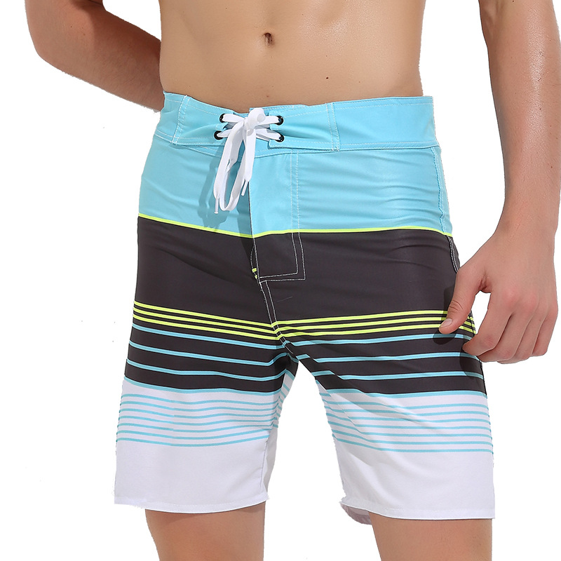 Sbart Men's Quick-Dry Beach Shorts Loose And Plus-sized Men's Hot Springs Large Pants Swimming Pants Seaside Beach Holiday