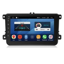 2 Din 8 inch Android 8.1 Car DVD Multimedia Player 1G+16G GPS Navigation WIFI Bluetooth Audio Stereo Radio Player For-VW(China)