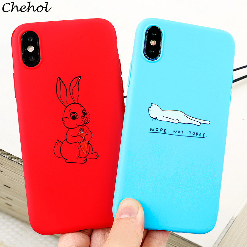 Funny Cute Animal Mobile Phone Cases for iPhone 6 s 7 8 11 Plus Pro X XS MAX XR Case Pig Soft Silicone Back Covers Accessories in Fitted Cases from Cellphones Telecommunications
