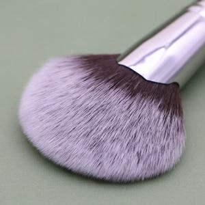 Image 3 - Sywinas מאוורר מברשת סימון רך פנים יופי ציור אבקת קרן סומק bronzer מיזוג איפור מברשות