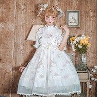 2020 lolita dress fairy dress lolita sweet lolita vestido lolita cosplay costume puff sleeve lolita jsk dress