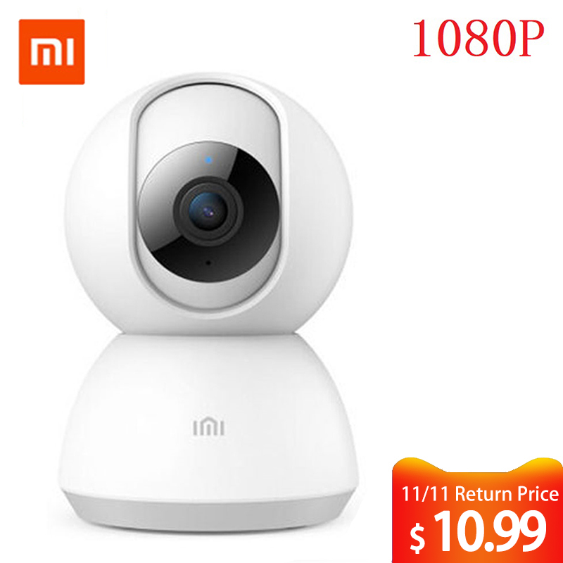 Mijia chuangmi xiaobai câmera inteligente webcam 1080 p hd wifi pan-tilt visão noturna 360 ângulo de visão da câmera de vídeo monitor do bebê