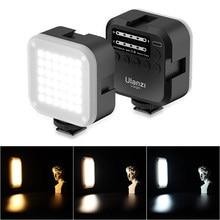 Ulanzi u-brilhante 2700-6500k conduziu a luz de vídeo mini vlog luz cri95 cor gel lâmpada móvel dslr slr câmera vlog luz na câmera