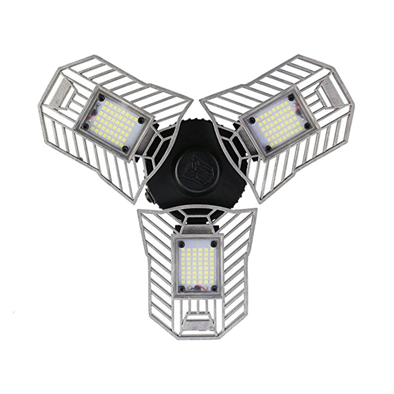 Deformable 60W High Bay <font><b>360</b></font> Degree Pir Sensor Security Floor light <font><b>bulbs</b></font> Super Bright Lighting <font><b>Led</b></font> Garage Light image
