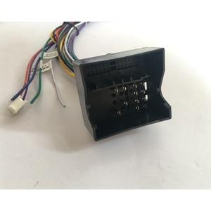Image 4 - HACTIVOL 2 Din Car Radio face plate Frame for Citroen C Quatre 2004 2009 Car DVD GPS player panel dash mount kit car accessories