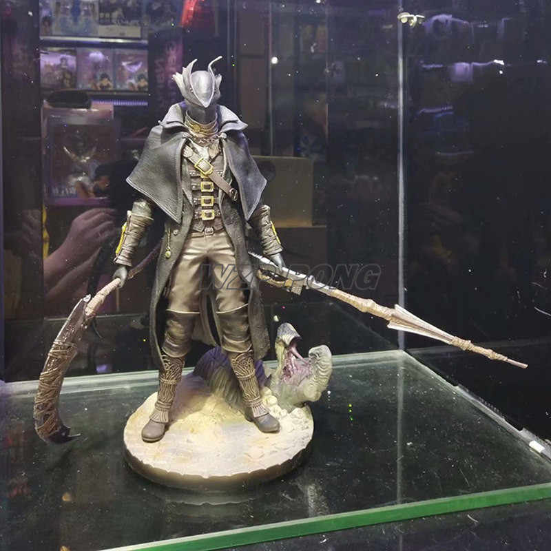 31CM Bloodborne Gecco Estatueta Bonecas Brinquedos PVC Action Figure Collectible Modelo Toy Kids Presente