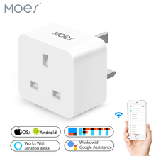 UK Smart WiFi Socket Plug Power Plug  APP Remote Control Timer Power Works with Alexa Google Home No Hub Required цена и фото