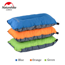 Naturehike Outdoor Automatic Inflatable Pillow Folding Sleeping Pillow Camping Portable Comfort Air Travel Lunch Break