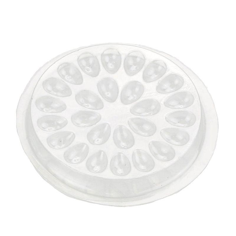 10 шт одноразовые поддоны для клея наращивания ресниц