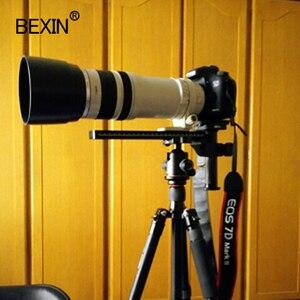 Image 5 - Placa de trípode para cámara dslr, placa de liberación rápida para lente de teleobjetivo con placa de arca swiss, pilar de fibra de carbono