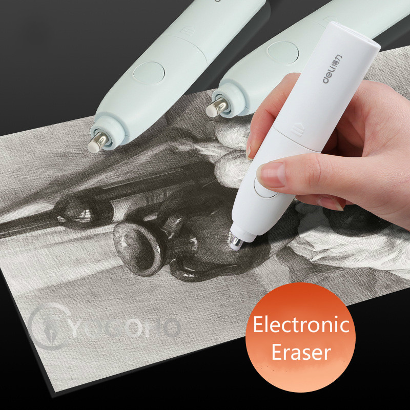 Popular Electric Eraser Automatic School Supplies Stationery Gift Material Sketch Painting Correction Tool