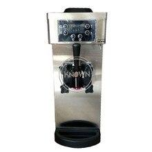 Маленькая производственная 8л Домашняя мини настольная машина для изготовления мягкого мороженого с одним ароматом,, самая дешевая