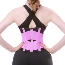 Waist Belts Support Training Corset Elastic Back Lumbar Brace Sport Safety Gym Protector Weigh Loss