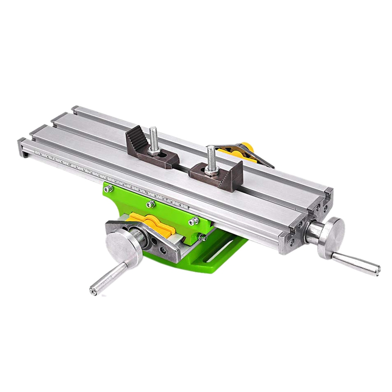 BG6330 Multifunction Worktable Milling Working Table Milling Machine Compound Drilling Slide Table for Bench Drill