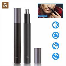 新しい youpin 電気ミニ鼻毛トリマー HN1 ポータブル耳鼻毛シェーバー防水安全クリーナーツール男性のための