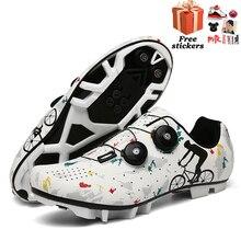 Cycling-Shoes Mountain-Road Professional Breathable Non-Slip Men Men's Ladies
