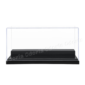 Image 2 - Odoria  (19.5x8.5x8.5 cm) Acrylic Display 2 Steps Case/Box Perspex ShowCase Dustproof For Model Cars Action Figures Collectibles