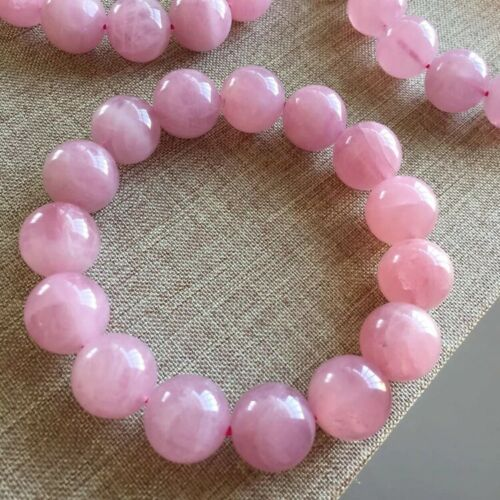Rose Quartz Bracelet 8mm 10-11mm 12mm Stretch High Quality Natural Stones