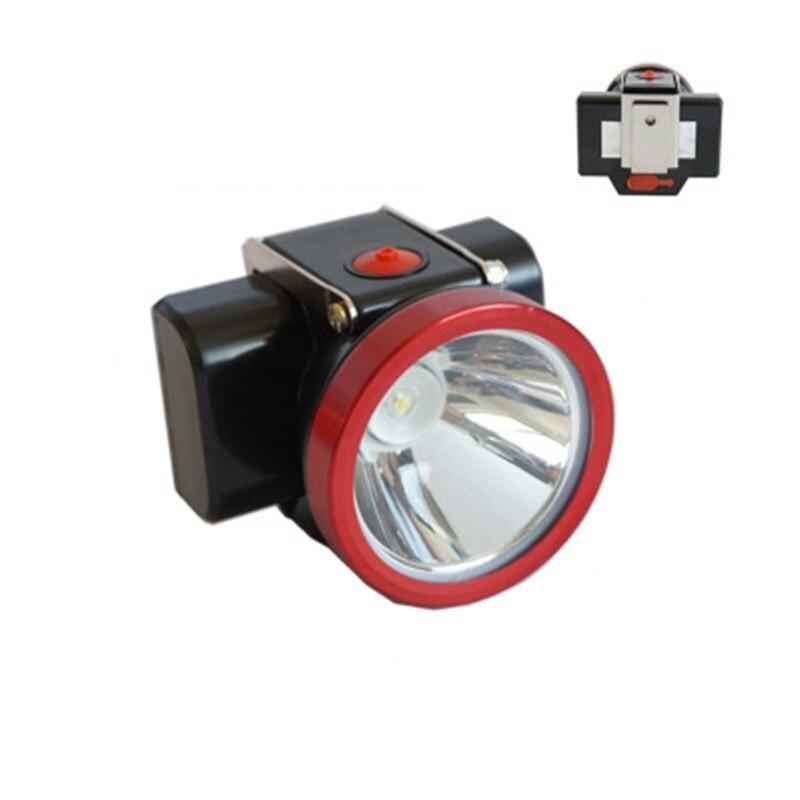 Высокая яркость Шахтерская лампа KL2.8LM Шахтерская головная лампа 15000LUX 4000mAh колпачок лампа